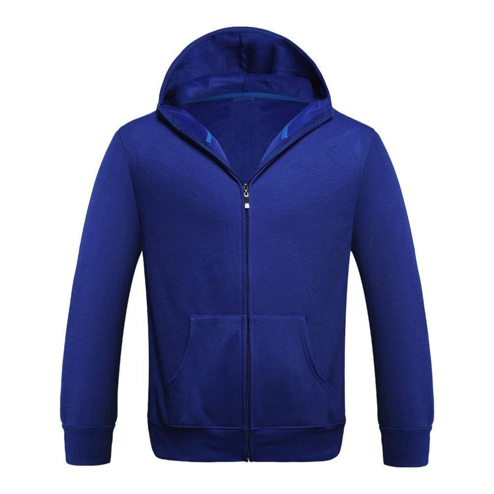 Sharemen Men's Hooded Sweatshirt Pocket Casual Tops Coat