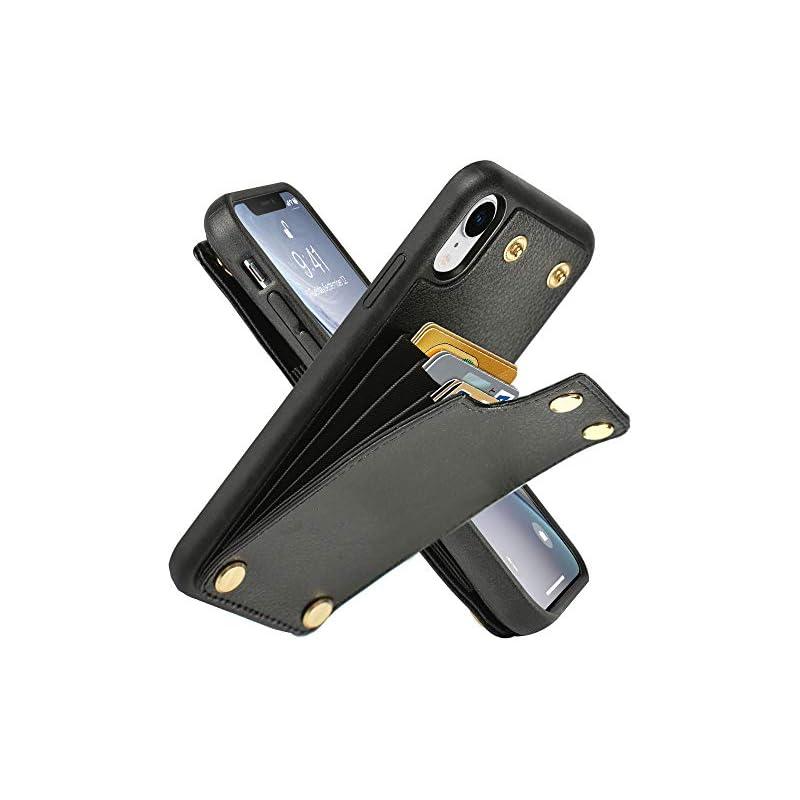 LAMEEKU Wallet Case Apple iPhone XR, 6.1