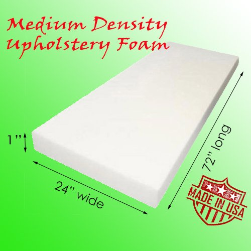 AK-Trading Upholstery Foam Cushion - Medium Density 1