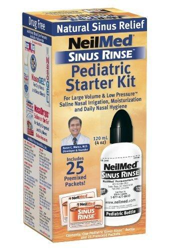 Sinus Rinse Pediatric Kit - SINUS RINSE PEDIATRIC STRT KIT 4 OZ by NeilMed Pharmaceuticals