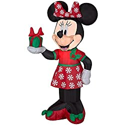 Friendly-faced Disney Character 42 in. Inflatable...