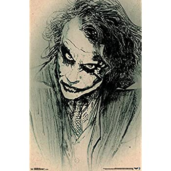 Amazon.com: GREAT ART Wall Decoration The Joker Wallpaper