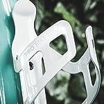 Bike-Bottle-Bottle-Cage-Bianco-o-Nero-Lucido-Nero-Opaco-Sistema-di-ritenzione-sicura-Nessuna-Bottiglia-persa-Facile-e-Veloce-da-Montare-per-Bici-da-Strada-e-Mountain-Bike