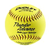 Dudley Thunder Advance 12'' Slow Pitch Softball - Composite Cover - Pack of 12