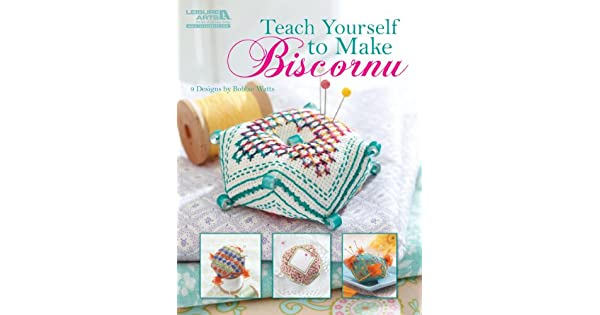 Amazon.com: Leisure Arts Teach Yourself hacer biscornu el ...