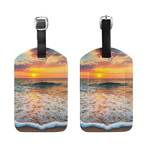 Buddhism Travel Tags For Travel Tags Accessories 2 Pack Luggage Tags