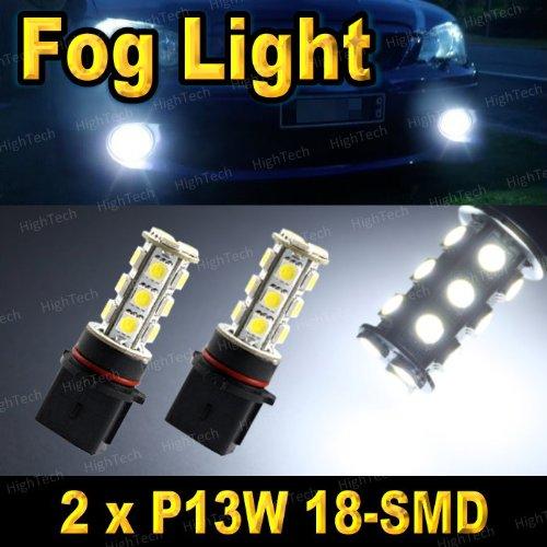 2 PCS Bright White P13W / PSX26W / SH23W 18-SMD 5050 LED Headlight Bulbs For Driving Fog Light / Day Time Running Light DRL