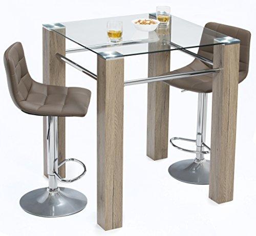 Mango Steam Mid Century Modern Pub Table ()
