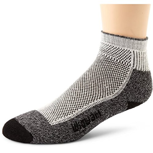 Wigwam Ultimax Quarter Cool-Lite Hiker Socks, Black, Large