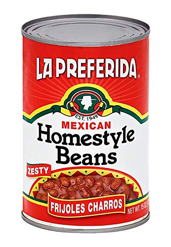 Preferida Bean La - La Preferida Mexican Foods Homestyle Beans | Frijoles Charros | 15 OZ (Pack of 24)