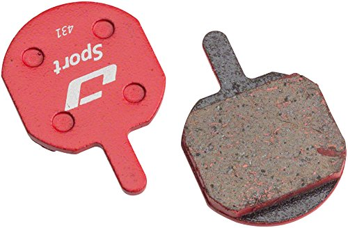 Jagwire Mountain Sport Semi-Metallic Disc Brake Pads for Hayes CX, MX, Sole