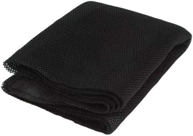Noir Tissu Acoustique Chiffon de Haut-Parleur de Gille Maille Tissu de st/ér/éo pour laudio