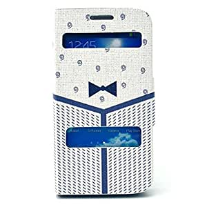 HOT Fashion Leather Case for Samsung Galaxy S4 Case I9500 Stand Case Cover Open Window (7)