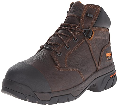 Safety Metatarsal Guard Boots (Timberland PRO Men's Helix Met Guard Work Boot,Brown,10.5 M US)