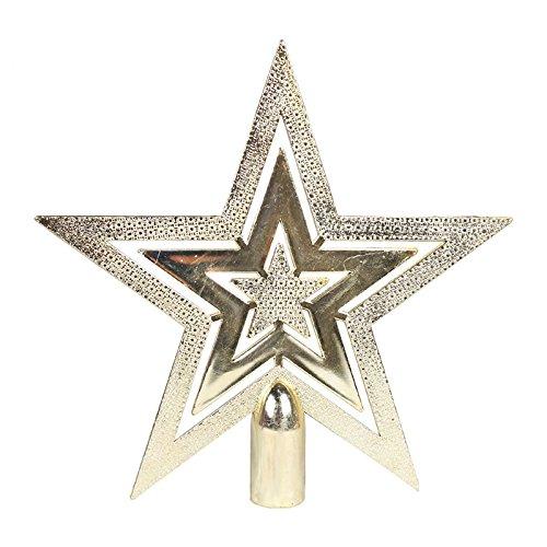 Star Wars Árbol de Navidad Topper, windgoal S/L Árbol de Navidad Topper estrella de plástico para Navidad decoración de...