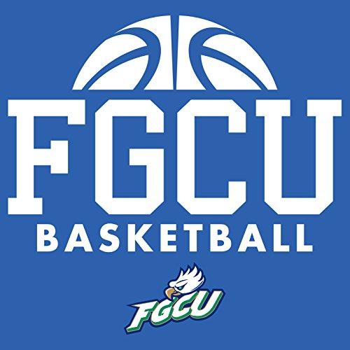 NCAA Florida Gulf Coast Eagles 50//50 Blended 8-Ounce Vintage Mascot Crewneck Sweatshirt