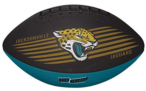 Rawlings NFL Jacksonville Jaguars 07731091111NFL Downfield Football (All Team Options), Green, Youth
