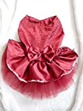 Hqclothingbox Dog Cute Dress Skirt Pet Dog Cat Princess Clothes Plus Size Dress