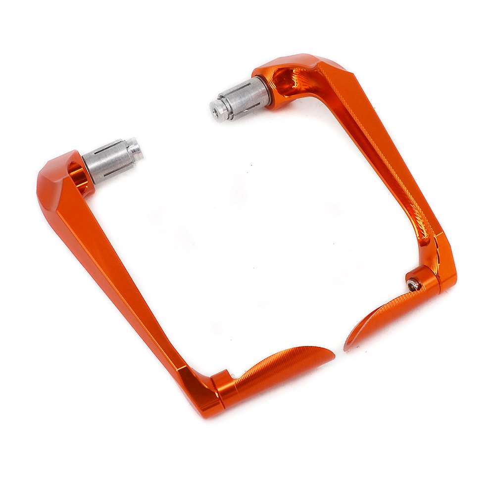 3D Brake Clutch Lever Protector Handguards Aluminum 22mm Universal CNC Hand Guards For Honda CR125 CRF250 CRF450 XR250 CR CRF 125 250 300 350 450 Motocross Dirt Bike Enduro Red