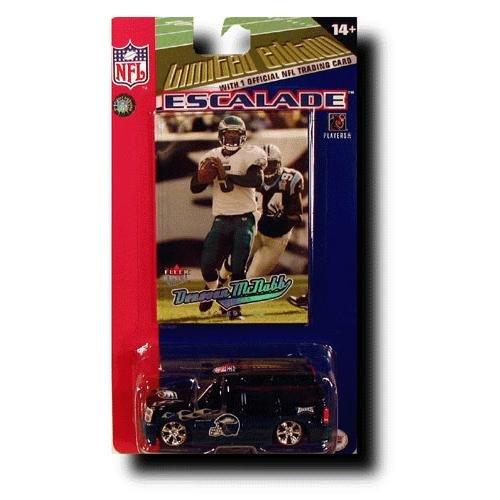 Philadelphia Eagles 2005 NFL Limited Edition Die-Cast 1:64 Cadillac Escalade with Donovan McNabb Card 2005 Escalade Collectible