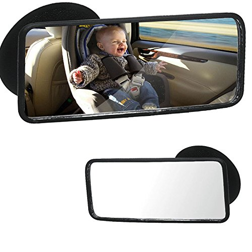 MIRROR CAR REAR SEAT VIEW Baby Child Safety Watching Mini Adjustable Detachable