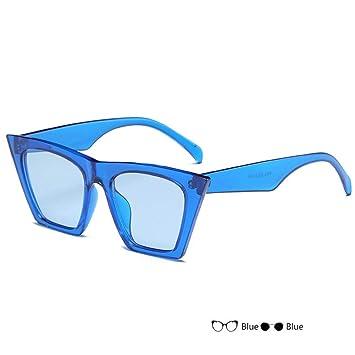 CjYtYj Gafas de Sol cuadradas Mujer Hombre Sombras Gafas de ...