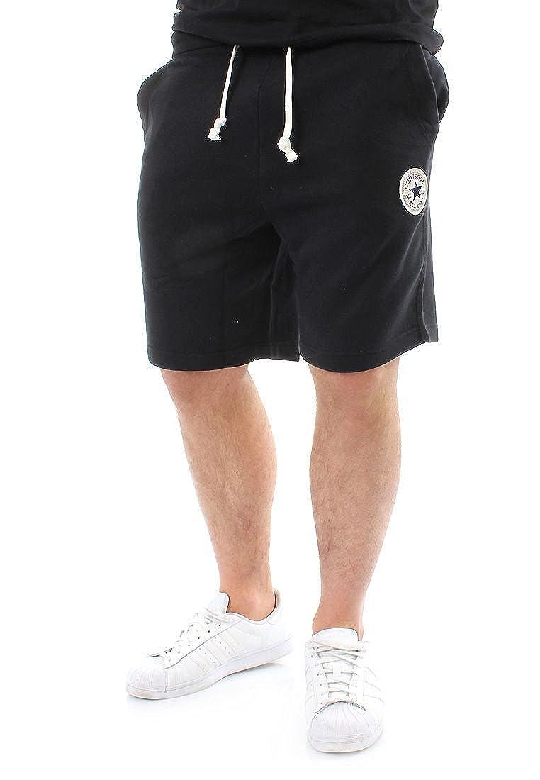 Converse Hombre Pantalones cortos de chándal del logotipo ...