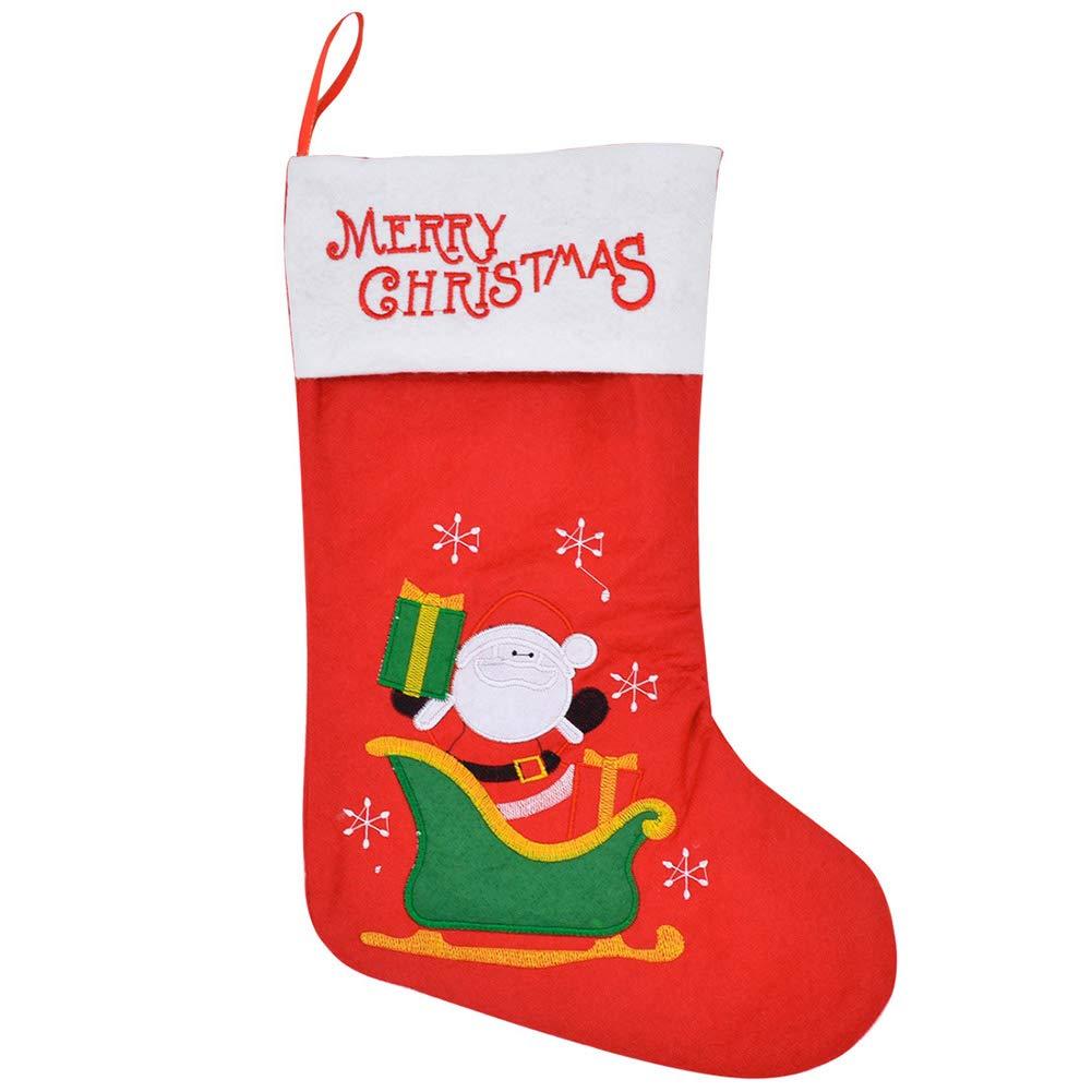 Leisial. Nikolausstiefel Weihnachtsstrumpf für Süßigkeiten ...