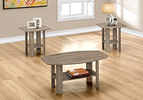 Occassional Sets (Monarch Table Set, Dark Taupe)