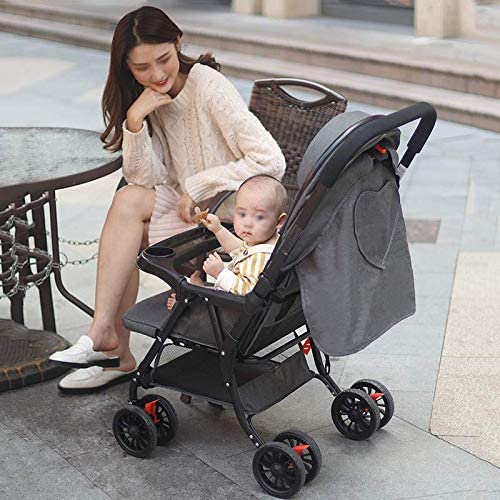 Pushchair, Long and Wide Sleeping Basket, Specially Designed for Babies from 1 Month to 3 Years Old. 52x46x95CM