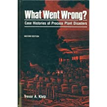 What Went Wrong: Case Histories of Process Plant Disasters