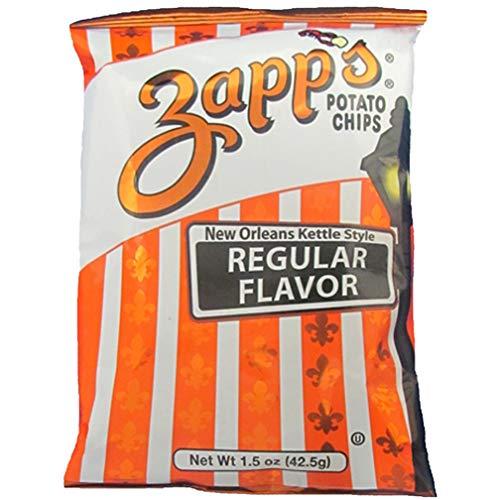 Zapps Regular Potato Chips, 1.5 Ounce (24-Pack)