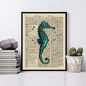 516IT2z4HbL._SS300_ Seahorse Wall Art & Seahorse Wall Decor