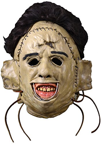 Texas Chainsaw Massacre 1974 Leatherface Killing Mask Standard - Texas Chainsaw Massacre 1974 Costume
