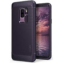 Ringke Funda Galaxy S9 Plus, [Onyx] [Gran Resistencia] Protectora de TPU Duradera, Antideslizante y Flexible para Samsung Galaxy S9 Plus 2018 Case Cover – Plum Violet Púrpura
