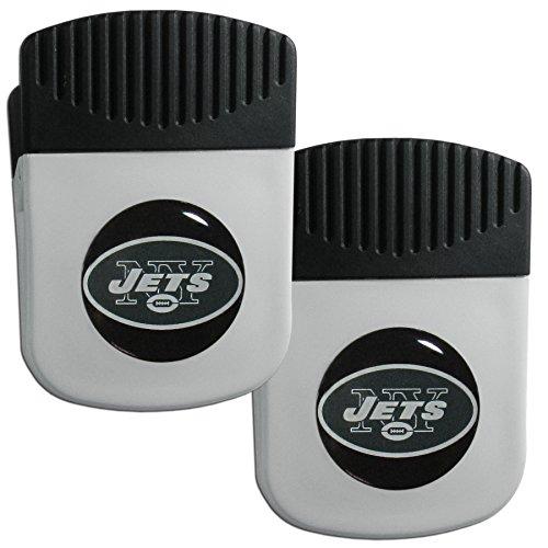 Siskiyou NFL New York Jets Clip Magnet with Bottle Opener, 2 Pack