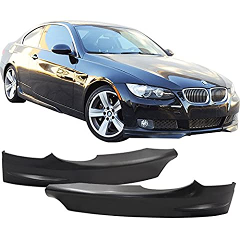 2007-2010 BMW 3-Series 328I 335I Pre-LCI OE Pair Front Lip Splitters 2Dr PP Amazon#