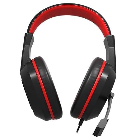 Mars Gaming MAH1V2 - Auriculares Gaming (Surround 7.1, Tarjeta de Sonido USB, Drivers neodimio 40mm, Diadema Ajustable, Rueda de Control Volumen, ...