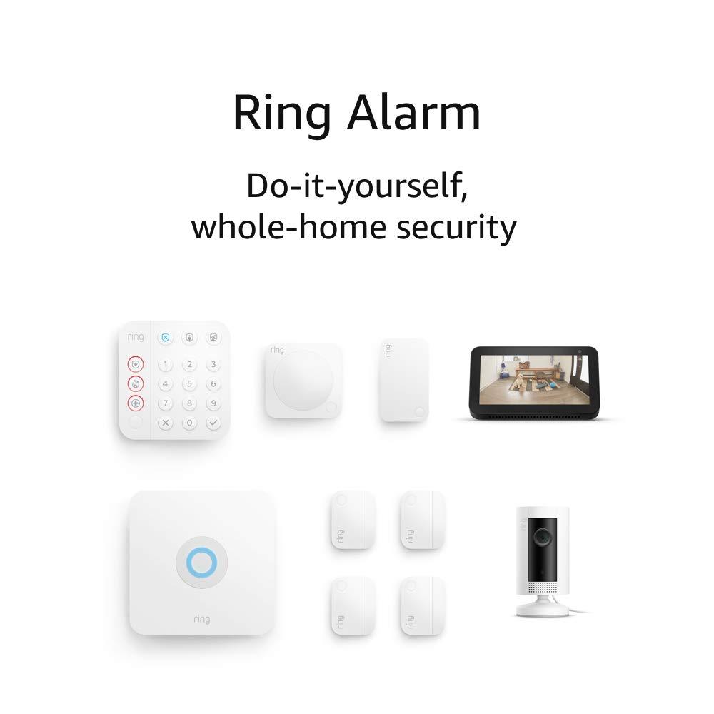 Ring 2nd Gen 8-piece kit Alarm $259.98 Coupon