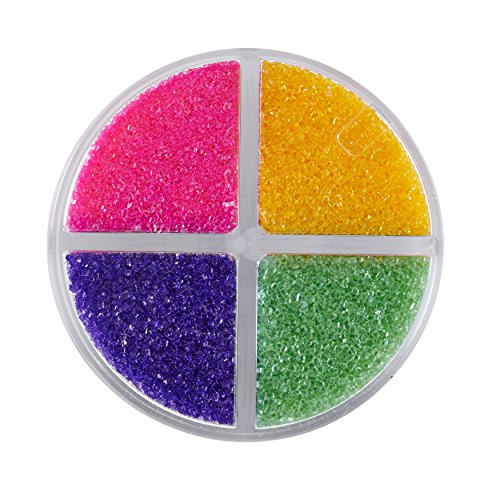 Wilton Bright Colored Sugar Sprinkles Medley, 4.4 - Crystal Mardi Colored Gras