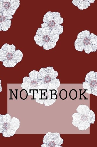 Notebook: Petals (Red), Lake District. Squared Paper (6