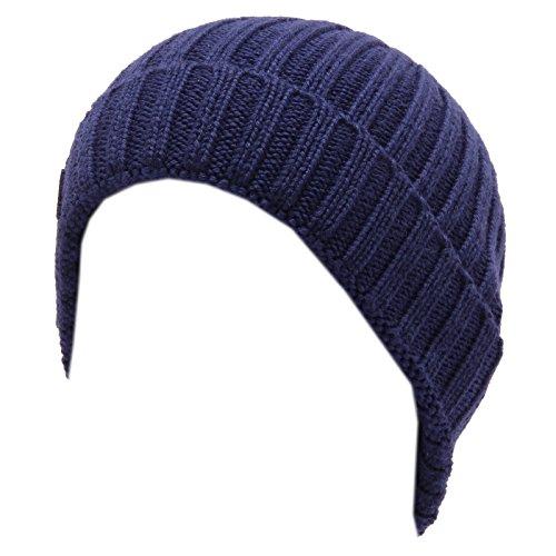 Boy Wool Kid Lana Cuffia Woolrich Bimbo Hat Blu Blue Beanie 0097w pXnPqw