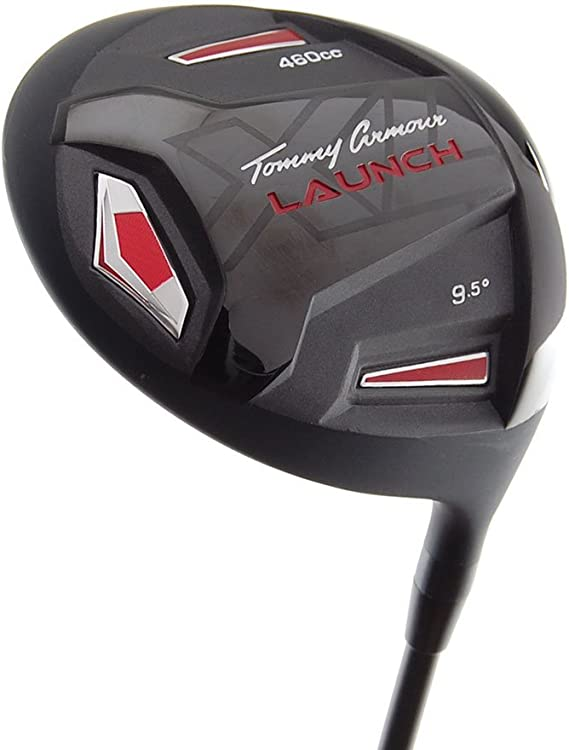 New Tommy Armour Launch XL TA-27 Driver 460cc Stiff Graphite 9.5 RH +HC