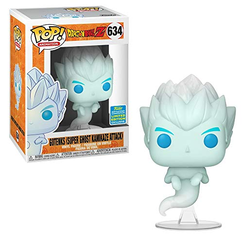 Summer Convention Gotenks Super Ghost Kamikaze Attack from Dragonball Z Limited Edition Vinyl Figure (Best Summer Anime 2019)