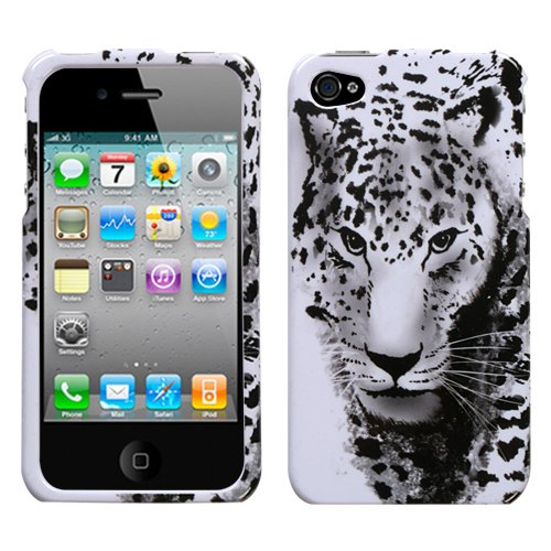 (Snow Leopard Phone Protector Cover for Apple iPhone 4 (AT&T), Apple iPhone 4 (Verizon))