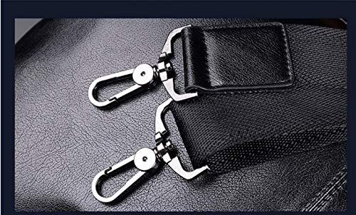 Cuir Porte documents Pour Sac Hommes Pu Brown Épaule Messenger D'affaires Portable En 7gqwz