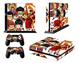 EBTY-Dreams Inc. - Sony Playstation 4 (PS4) - Slam Dunk Anime Sakuragi Hanamichi Rukawa Akagi Mitsui Miyagi Vinyl Skin Sticker Decal Protector
