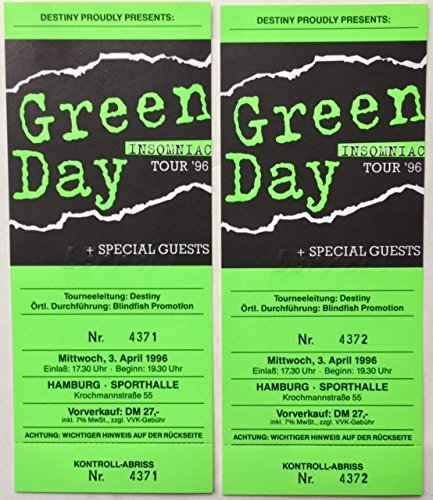 green day tickets - 2