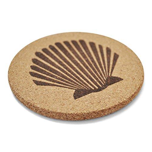 Jetty-Home-6-Piece-Coaster-Nautical-Beach-Gift-Set-Cork