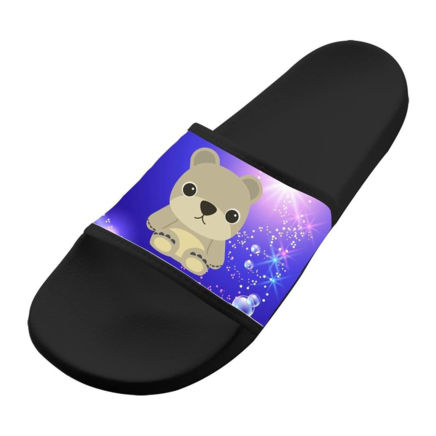 Fashion Slide Sandals Cute Bear Indoor & Outdoor Slippers